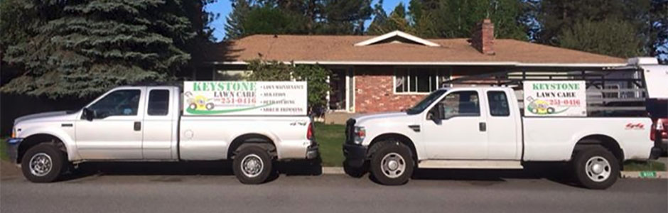 Keystone Lawn & Tree Care Vehicles